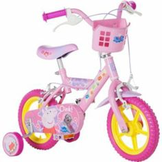 Buy Peppa Pig 12 Inch Bike - Girls' at Argos.co.uk - Your Online Shop for Peppa Pig toys, Children's bikes, Children's bikes.