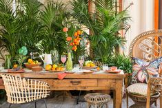 African Inspired Dining Room Ideas