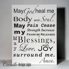 """Wood Typography Signs CANCER AWARENESS 
