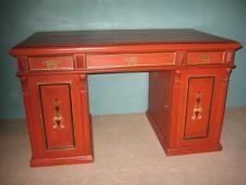 Almuemalet skrivebord - antik.