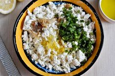 crazy feta: feta, lemon, roasted jalapeno and roasted garlic. eat with pita...yes, please.
