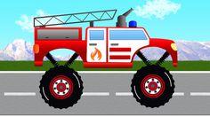 Fire Truck for Kids. Monster Fire Truck. Fire Trucks Videos for Children