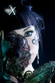 Jade Empress of Masks -DD- by `IanStruckhoff on deviantART