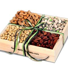 Roasted Nuts Gift Crate™ by GourmetGiftBaskets.com
