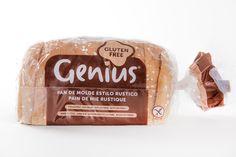 ¡Nuevo pan de molde estilo rústico y #FrescoSinGluten de Genius! ¡Más delicioso que nunca!