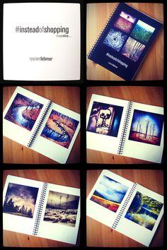 """Album fotograficzny: """"#insteadofshopping"""" -  historia obrazkowa 93 zdjęcia ułożone w opowieść o naturze, życiu, ziemi i ludziach... jak to określił mój Przyjaciel to """"taka fotografia filozoficzna"""" ..."""
