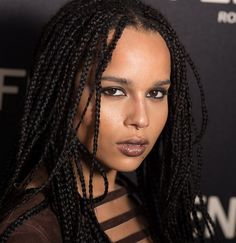 "c-xvi: "" soph-okonedo: "" Zoe Kravitz arrives at the Fendi New York Flagship Boutique Inauguration Party during Mercedes-Benz Fashion Week Fall 2015 at Fendi 5th Avenue Boutique on February 13, 2015 "" omg is she real """