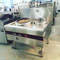 GD52Y1 asian wok burner with air mixer for high pressure flame, faucet and soup stock inset available here or contact Chris 09173012331 4957828 www.mrmetalcorp.com #cebu #food #foodporn #cooking #wok #kitchen #hotel #restaurant #asiandishes #commercialkitchen #foodservice #foodbusiness