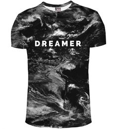 You are a dreamer and nobody can take that away from you. Each of us has the right to escape in its thoughts wherever it wants, even if the dreams are the most absurd. Remember, everything can come true. The atmospheric pattern with a clear message, but kept in very subdued, perhaps even disturbing style.