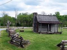 pictures of old log cabins in the south - Google Search
