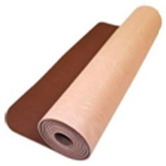 Material: Shiva Yoga Exercise Mat has the highest sticky factor and is definitely your best bet. Sticky enough to keep   you from sliding all over the place and helps you   maintain your alignment as you move from one pose to another.Find out more @  http://www.shivayogamats.com/products.html