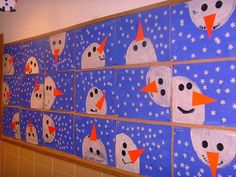 Kids Christmas Tree Craft - Sandra Suard - Winter Fashion Easy Christmas Classroom Decorations you'll have to check out before you scroll up Christmas Trees For Kids, Christmas Crafts For Kids, Holiday Crafts, Christmas Decorations For Classroom, Christmas Art Projects, Winter Christmas, Christmas Bulletin Boards, Winter Bulletin Boards, Christmas Snowman