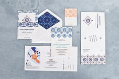 Moroccan Inspired Wedding Shoot - wedding invitations and stationery - One Fine Day National Campaign 2015