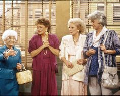 My favorite TV show of all time!  Golden Girls!