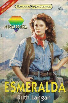 Momentos da Fogui: Resenhas: Série: As Jóias do Texas 01 - Esmeralda - Ruth Lan...