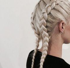 Cool Braided Hairstyles Side Swept And French Braids On Pinterest Hairstyle Inspiration Daily Dogsangcom