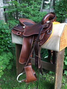 Custom endurance saddle
