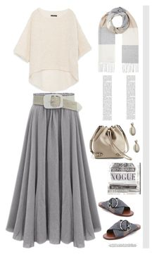 """""""Soft Gray'"""" by dianefantasy ❤ liked on Polyvore featuring Zara, Tory Burch, Oliver Gal Artist Co., John Lewis, gray and polyvoreeditorial"""