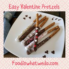 Food from around the world to your table! Pretzels, Valentines, Check, Easy, Blog, Recipes, Valentines Diy, Food Recipes, Blogging