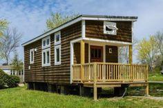 300 Sq Ft Custom Tiny Home on Wheels by Wishbone Tiny Homes 001