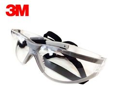 Personal Protective Equipment (ppe) Tools & Workshop Equipment 3m 10196 Protective Eyewear Clear Anti-fog Lens Windproof Sand Laboratory Safety Matching In Colour