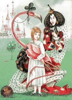 Alice In Wonderland - Flamingo Croquet