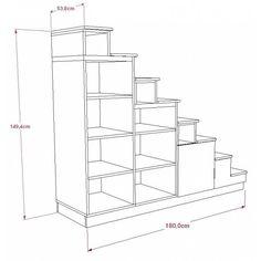 Biblioth que escalier pour mezzanine construction pinterest escaliers mezzanine et tag res - Dimension escalier colimacon ...