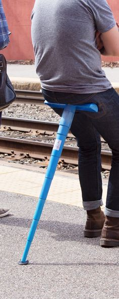 Sitpack: Portable Telescopic Seat