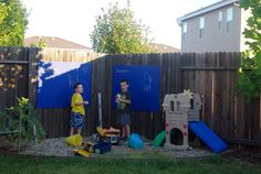 Diy Kids Outdoor Play Area   Google Search