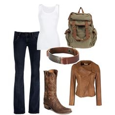 cowgirl, created by azchick.polyvore.com