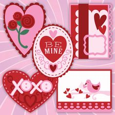 Be Mine Valentines SVG Kit