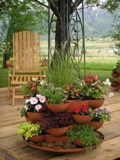 Reciclagem e Criatividade no Jardim - 15 Dicas - DIY