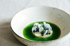 Marinated Celeriac in Cucumber Wild Herbs Brew | KRAUTKOPF