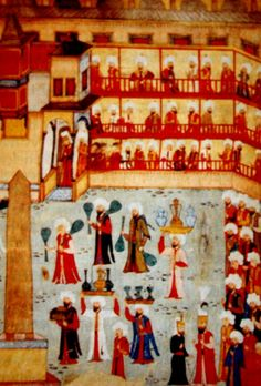 OĞUZ TOPOĞLU : atmeydanı camcıların geçiş töreni 1582 - osmanlı m...