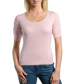 Pale Pink T Shirt | Women's Cotton | Wool Overs