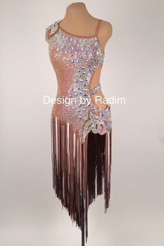 Latin Dance Dresses & Rhythm Dresses by Radim Lanik