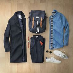 fall outfit formulas for men