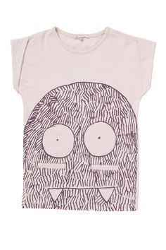 Monster stencil - this would be so cute for a kid // French Connection Little People, Little Boys, Baby Boy Fashion, Kids Fashion, Kids Prints, Textiles, Shorts With Pockets, Baby Wearing, Kids Wear