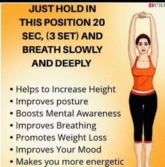 Fitness Workout For Women, Fitness Diet, Yoga Fitness, Health Fitness, Easy Morning Workout, Health Tips, Health And Wellness, Healthy Exercise, Senior Fitness