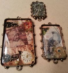 Ken Oliver shares a step by step tutorial for how to create a basic bezel - include paper, gears, etc! http://buff.ly/QlAftq #iceresin #diy Ever wondered about the basics of using ICE Resin to make a paper backed bezel? Ken Oliver shares a step by step tutorial - include paper, gears, etc! http://buff.ly/QlAftq