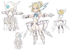 Einheria Venus | Bravely Default  I really liked this character.