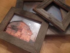 how to make picture frames from pallets - Google Search