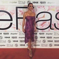 Style Fashion week in LA 50 shades of pink to benefit Breast cancer survivors