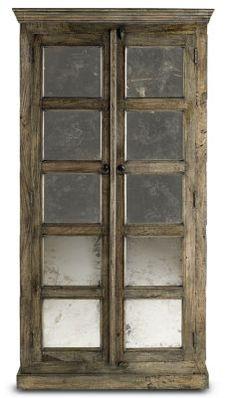 Kinsett Cabinet from Soft Surroundings: doors for entertainment center