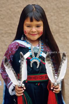 Native American girl in ceremonial dress, New Mexico American Indian Girl, Native American Children, Native American History, Indian Girls, Native American Indians, Cheyenne Indians, Indian Tribes, Native Indian, Native Child
