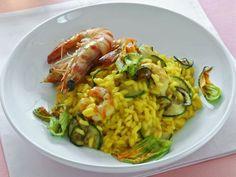 risotto-giallo-con-gamberi-e-zucchine