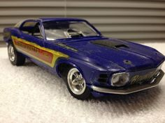 VTG 1st  1969 Mustang Funny Car 1/25  Model Built  MPC Connie Kalitta #MPCorRevell