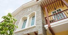 แบบบ้านสวยทัสคานีสไตล์ โรแมนติกทาวน์โฮม โครงการบ้านใกล้รถไฟฟ้าสายสีม่วง