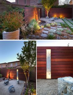 8 Elements To Include When Designing Your Zen Garden // Lighting -- The shadows…