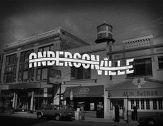 Amazing logo design for each town in Chicago. Andersonville - The Chicago Neighborhoods Andersonville Chicago, The Neighbourhood, Cameron Park, Chicago Neighborhoods, Cool Typography, Chicago Style, My Kind Of Town, Best Cities, Back In The Day